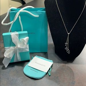 Tiffany and Co. dangle necklace